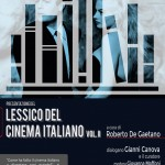 lessico del cinema italiano